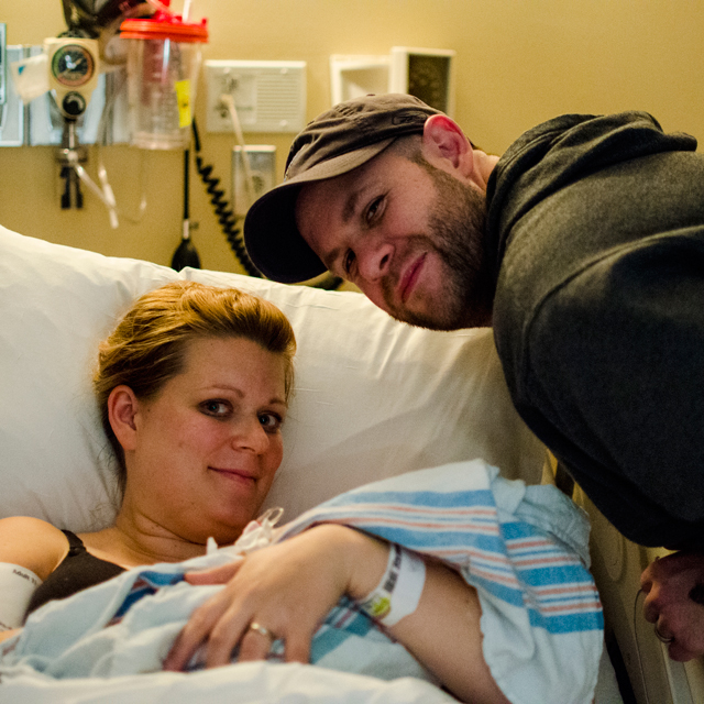 St. Louis Labor and Delivery Photographer | Aven, A Story of New Life, Part II - Birth