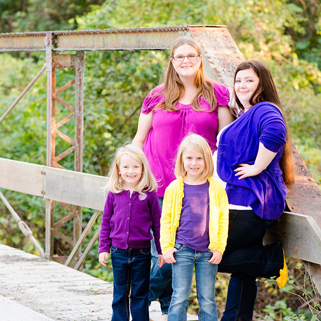 Ste. Genevieve Family Photographer | Kate, Deb, & the girls