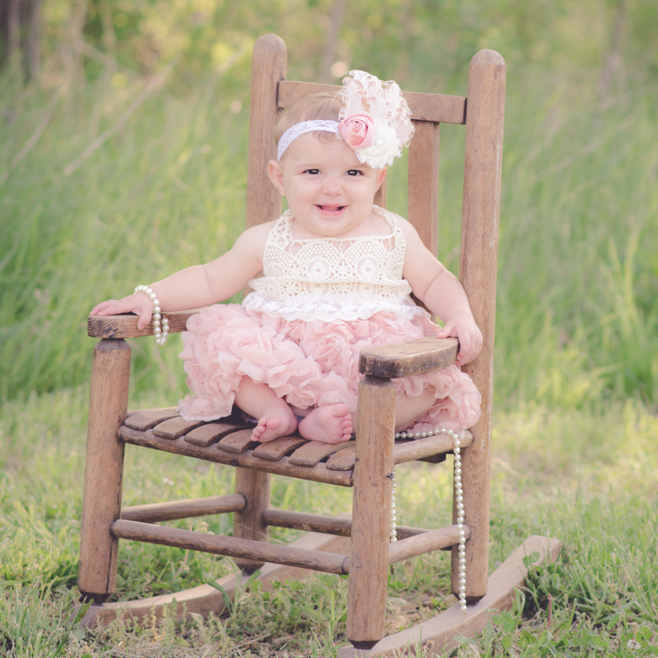 Ste. Genevieve Children's Photographer | Bella, 1 Year Old