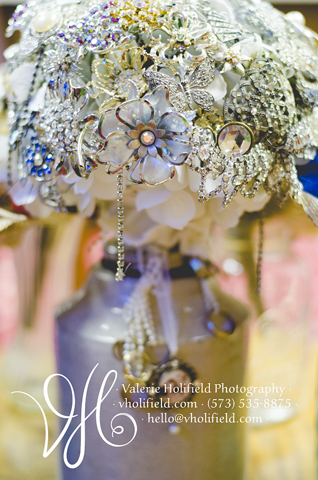 Unique Bridal Bouquet - Tracy's Family Heirlooms