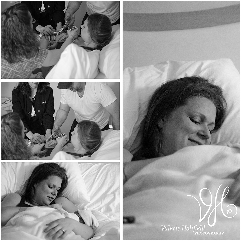 St. Louis Photographer | Labor & Delivery, Robbins Birth Story Photos