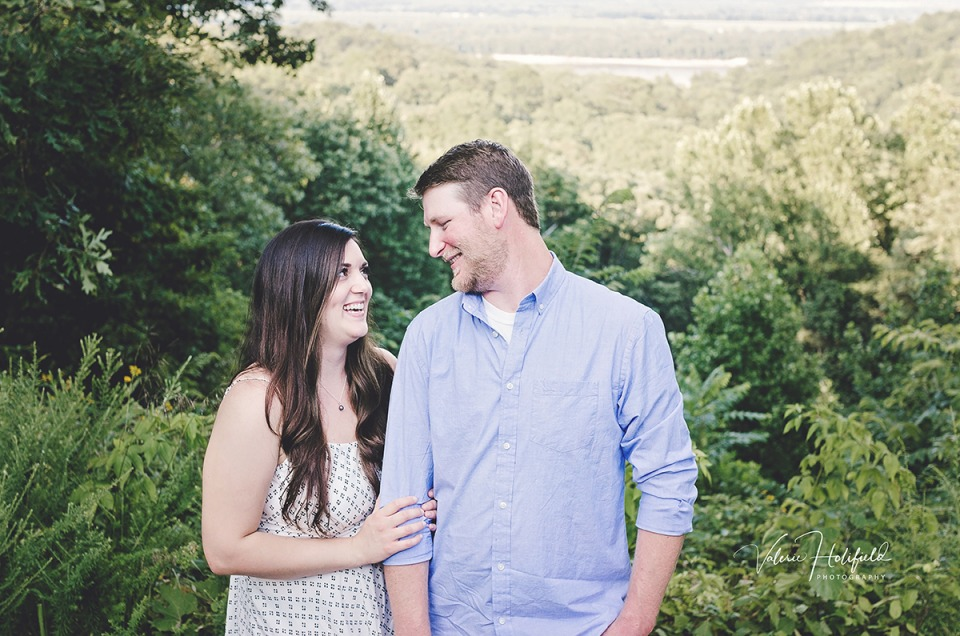 Jackson Engagement Photographer | Jessica & Ben | Trail of Tears State Park, Jackson, MO
