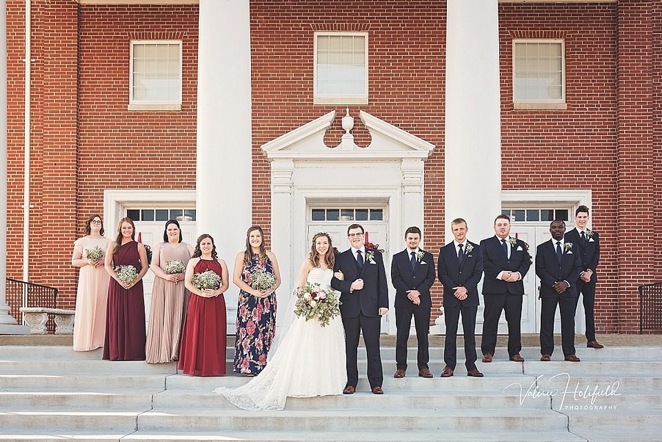 Molly & Daniel, December 2, 2017 | Wedding Photography at First Baptist Church Festus/Crystal City, MO