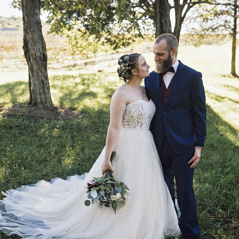 Rachel + Joseph, October 21, 2018 | Wedding at Chaumette Winery, Ste. Genevieve Co, MO